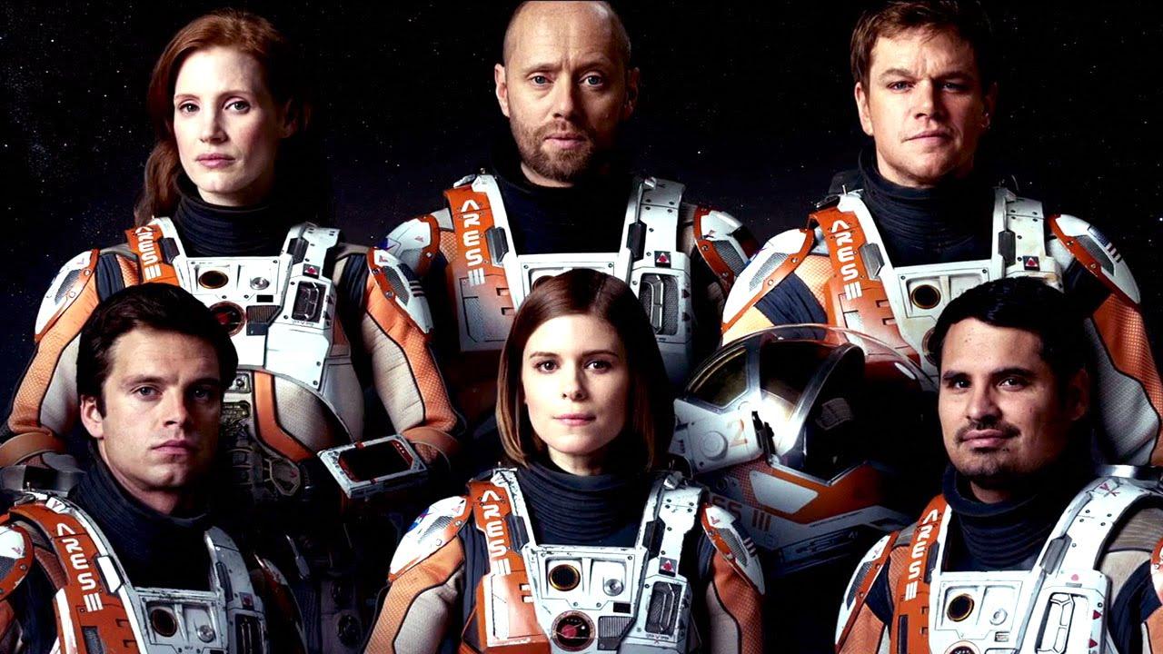 宇宙飛行士たちの集合写真